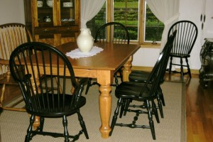Antique Tables Made Daily Showroom