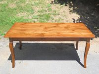 Antique Pine Cabriole French Country