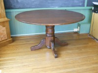 Cherry Colonial Pedestal