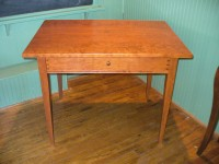 Cherry Shaker Desk with Drawer