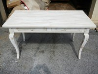 Maple Cabriole French Country Desk with Drawers