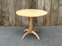 Maple Round Shaker Pedestal