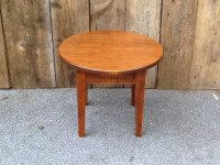 Maple Small Round Shaker Coffee Table