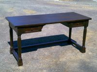 Pine Mountain View Desk with Drawers