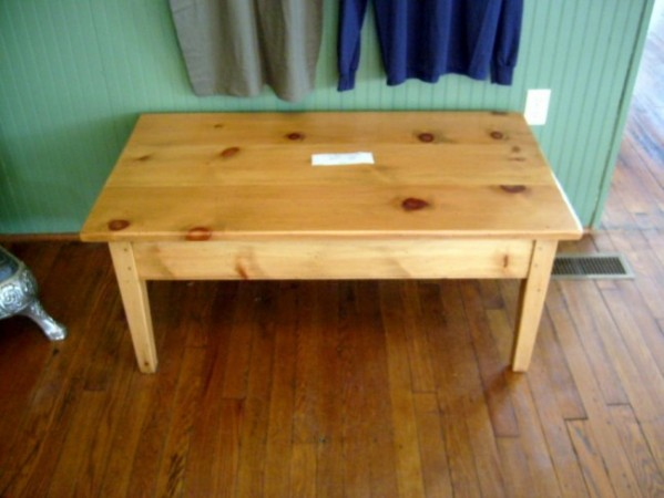 Pine Shaker Coffee Table