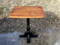 Thick Antique Pine Innkeeper Pub Table