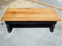 Thick Wormy Chestnut Irish Coffee Table