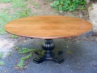 Thick Maple San Miguel Pedestal