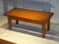 Thick Maple Virginia Farm Coffee Table