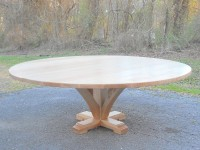 Thick Tiger Maple Copen Pedestal