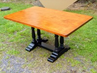 Thick Tiger Maple English Trestle
