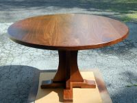 Thick Walnut Ballagh Pedestal