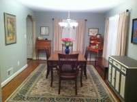 Cherry Notre Dame French Country with Cambridge Chairs